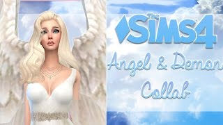 The Sims 4 || Angel and Demon Collab || W/Duckiechan✧