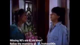 getlinkyoutube.com-Shahrukh khan and Gauri in Cinthol Old Indian Ad