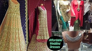 Affordable Pakistani Wedding Dresses From Rang Mahal Bazaar Lahore width=