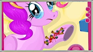 getlinkyoutube.com-Pony Bone Surgery - My Little Pony Games For Kids