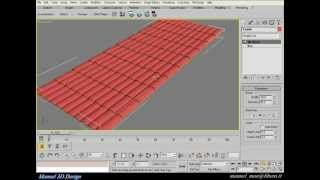 getlinkyoutube.com-Create roof tiles in 3ds max