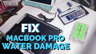 getlinkyoutube.com-Fix a Macbook Pro 2015 Retina after Water Damage #Howto