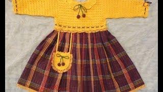 getlinkyoutube.com-Вязаное платье для девочки. Мастер-класс. Сrochet dress for girls.Do it yourself