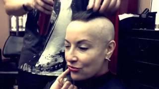 getlinkyoutube.com-Embrace The Mohawk Chemo-Glam