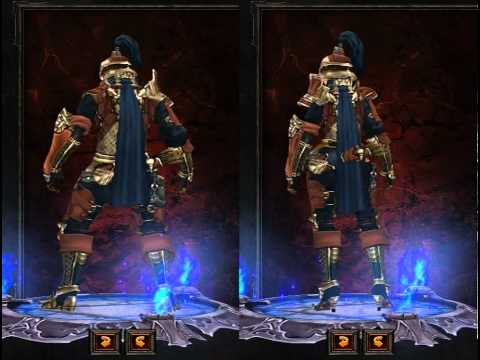 Diablo III Demon Hunter Armor Preview