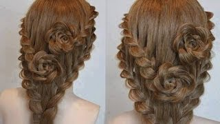 getlinkyoutube.com-PEINADO DE NOVIA | WEDDING HAIRSTYLE | СВАДЕБНЫЕ ПРИЧЕСКИ | VIRIYUEMOON