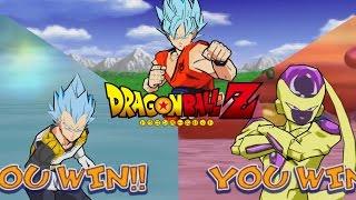 getlinkyoutube.com-Dragon Ball Shin Budokai Revival of F  SSGSS Goku/ Vegeta/ Golden Frieza Gameplay [60fps] [HD]