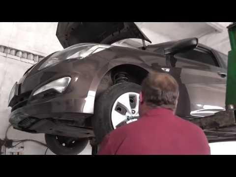 Замена рулевого наконечника хендай солярис