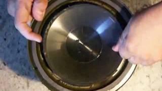 getlinkyoutube.com-Infinity 902-6194 Sicke reparieren refoam Lautsprecher