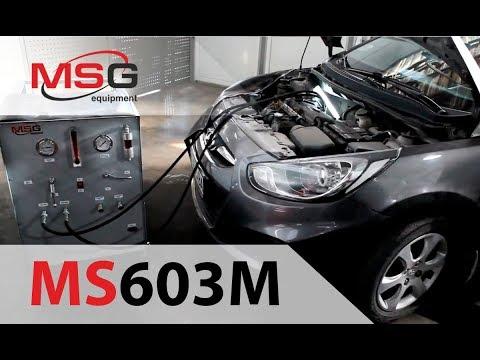 MSG MS603M - Передвижной стенд для промывки и диагностики гидравлической системы рулевого управления
