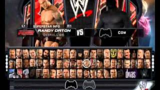 getlinkyoutube.com-PCSX2 0.9.7 WWE SMACKDOWN VS RAW 2011 PS2 ALL CHARACTERS AND FINISHERS
