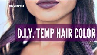 getlinkyoutube.com-HOW I MADE MY HAIR PURPLE! (W/TEMPORARY COLOR!)