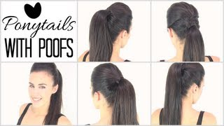 getlinkyoutube.com-Ponytails with poof