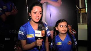getlinkyoutube.com-Anita Hasnandani and Ruhanika aka Shagun and Ruhi of Yeh Hai Mohabbatein at Chandigarh Cubs Launch