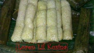 getlinkyoutube.com-Suman Malagkit Filipino Kakanin - rice cake