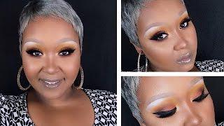 getlinkyoutube.com-Makeup look: Dramatic Sun Set