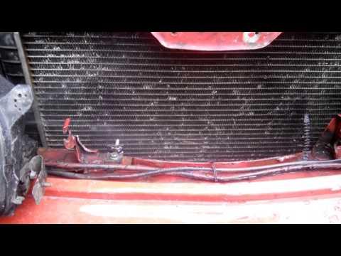 Дополнительно охлаждение радиатора форсунками омывателя