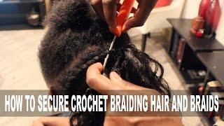 getlinkyoutube.com-Kid's Natural Hair|HOW TO SECURE CROCHET BRAIDING HAIR & BRAIDS | BEAUTYCUTRIGHT