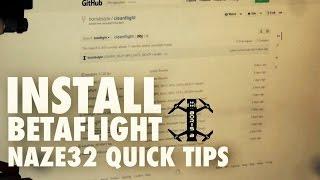 getlinkyoutube.com-Naze32 Quick Tips - Betaflight install and setup
