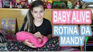 getlinkyoutube.com-Baby Alive Rotina da manhã e noite da Mandy (Boneca, Manhosa, Risadinha, Faz xixi, Comilona)