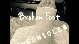 Broken Foot Chronicles & Updates | Tia Kirby