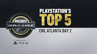 Top 5 Plays Presented by PlayStation 4 | CWL Atlanta Open | Day 2