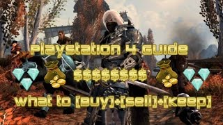 Neverwinter - Playstation 4 - What to Buy/Sell/Keep Guide