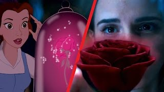 getlinkyoutube.com-Beauty and the Beast Trailer Comparison: Then and Now (Animated vs. Live Action)