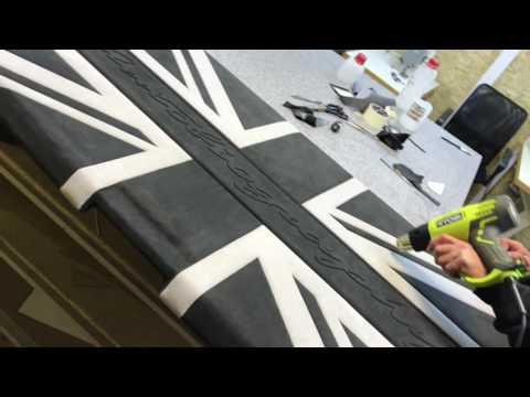 Полка багажника Англиискии флаг Range Rover