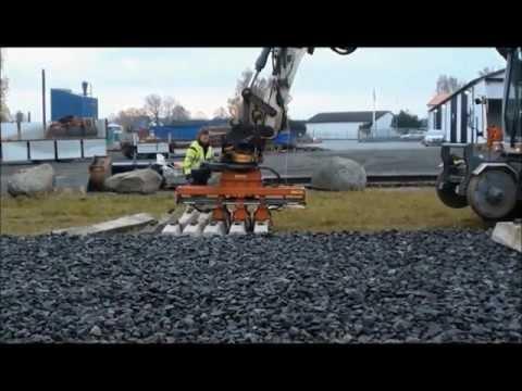 Chwytak do rozkładania podkładów kolejowych ,budowa torów,utrzymanie bocznic,koparka kolejowa