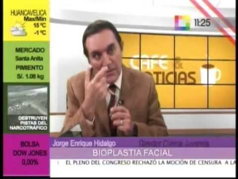 Dr. Jorge Hidalgo - Clinica Juvencia en Willax TV