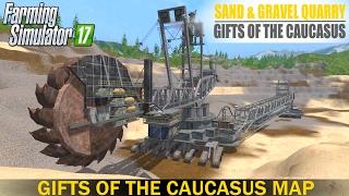 getlinkyoutube.com-Farming Simulator 17 SAND & GRAVEL QUARRY   MAP GIFTS OF THE CAUCASUS