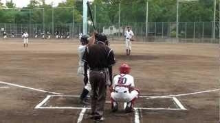 getlinkyoutube.com-軟式野球投手 中学2年生 2012年度