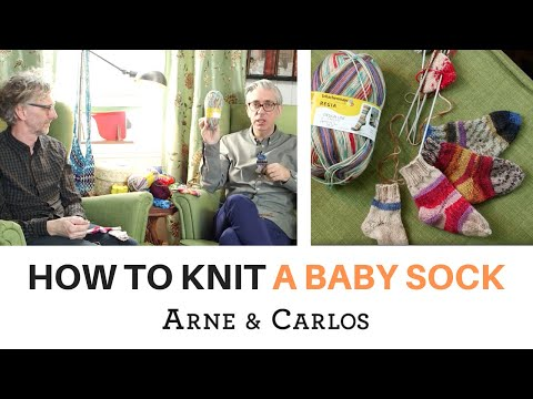 How to knit the easiest and cutest baby socks in the world by ARNE & CARLOS