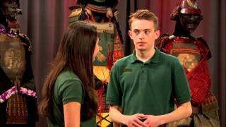 getlinkyoutube.com-Kickin It - Fight at the Museum | Official Disney XD Africa