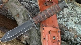 getlinkyoutube.com-Ontario Air Force Survival Knife-FULL REVIEW- by TheGearTester