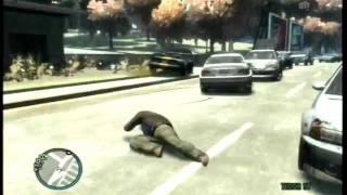 getlinkyoutube.com-GTA 4 Crashes, Bailouts, and Fails