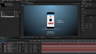 getlinkyoutube.com-iphone Animation in After Effects and Element 3d