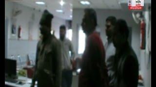 चोरों ने खंगाला बैंक ऑफ़ बड़ोदा बैंक