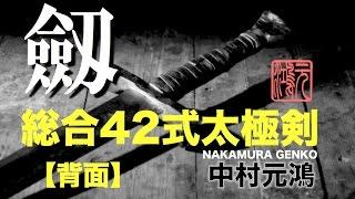 getlinkyoutube.com-剣 42式総合太極剣 全套路 背面 中村元鴻