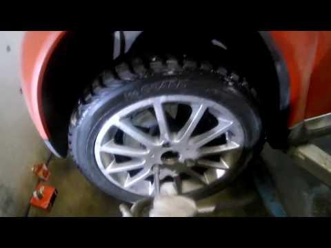 Замена тормозных дисков и колодок на смарте 451 (smart brake replacement)
