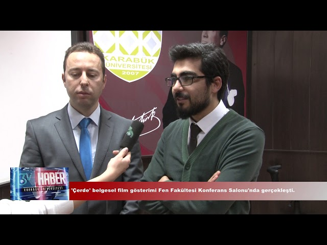 """""""ÇERDE"""" BELGESEL FİLM GÖSTERİMİ"""