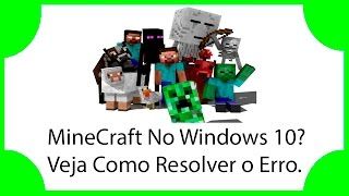 getlinkyoutube.com-Minecraft Não Funciona no Windows 10