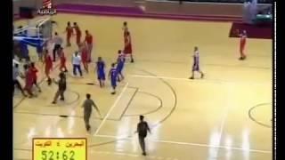 getlinkyoutube.com-Basketball Fight in Saudi (Bahrain-Kuwait)