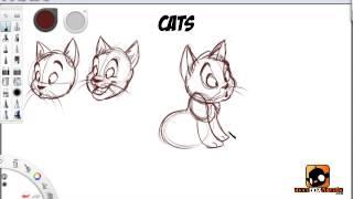 getlinkyoutube.com-How to Draw Cartoon Animals