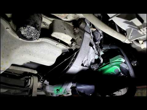Где у Mazda MX-5 находится сальник коробки передач