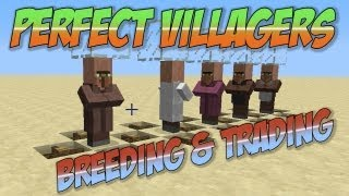 getlinkyoutube.com-Minecraft: Villager Trading & Breeding - Perfect Villagers Explained