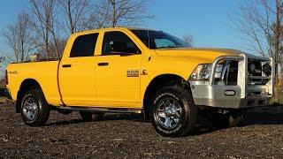 2014 Ram 2500 4x4 Yellow CUMMINS Diesel