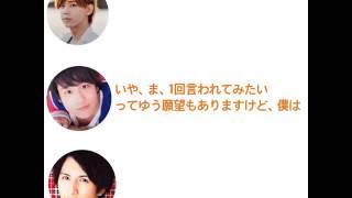 小瀧「死なねーよバカ♡」桐山「何で標準語やねんw」