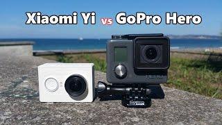 getlinkyoutube.com-Xiaomi Yi Action Camera vs GoPro Hero